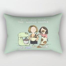 Baking Advice Rectangular Pillow