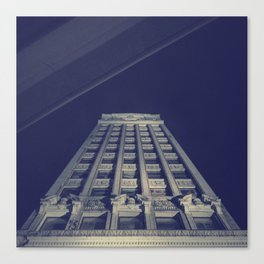 Wurlitzer Building Canvas Print