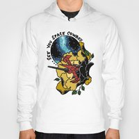 bebop Hoodies featuring Cowboy Bebop Swordfish II by Carrie South