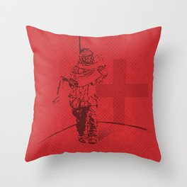 A SHADOW THAT SAVES LIVES Throw Pillow