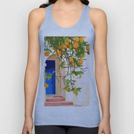 Wherever you go, go with all your heart #painting #illustration Unisex Tank Top