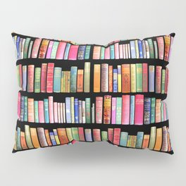 Vintage Book Library for Bibliophile Pillow Sham