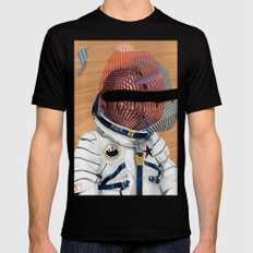Spaceman No:2 Black LARGE Mens Fitted Tee