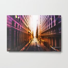 Let The Light In Metal Print