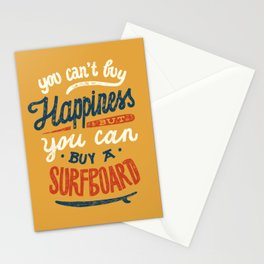 You Can't Buy Happiness Stationery Cards
