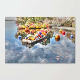 Floating Glass Canvas Print