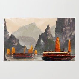 Ha Long Bay Rug
