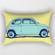 Fiat 500 Rectangular Pillow