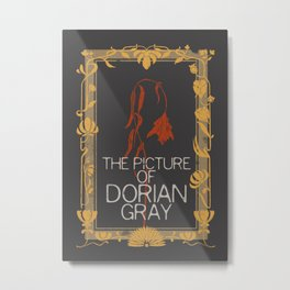 BOOKS COLLECTION: Dorian Gray Metal Print