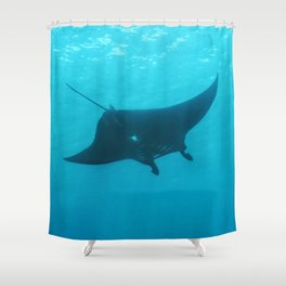Holy Manta Shower Curtain