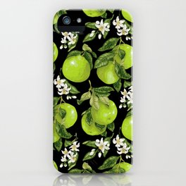 Blooming pomelo with fruits iPhone Case