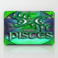 astrology iPad Cases featuring Pisces Zodiac Sign Astrology by CAP Artwork & Design