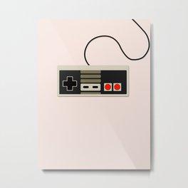 Old School Nintendo Metal Print