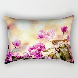 Paradise Apple Blossoms Rectangular Pillow