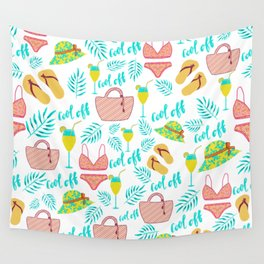 Cool summer doodles Wall Tapestry