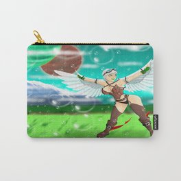 Flight on the Bubble Fields Carry-All Pouch