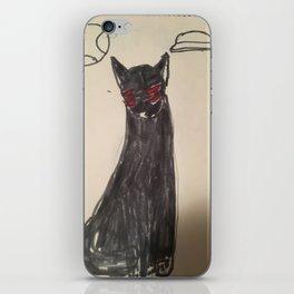 Alien Cat iPhone Skin