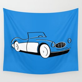 1956 Austin Healey Wall Tapestry
