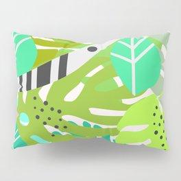 Green quiet jungle Pillow Sham