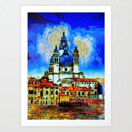 Salute Venice Art Print