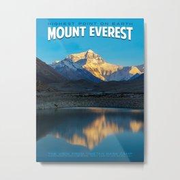 Mount Everest Travel Photo Metal Print
