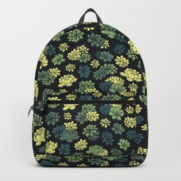 Succulents Pattern Backpack