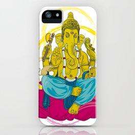 01 - GANESHA iPhone Case