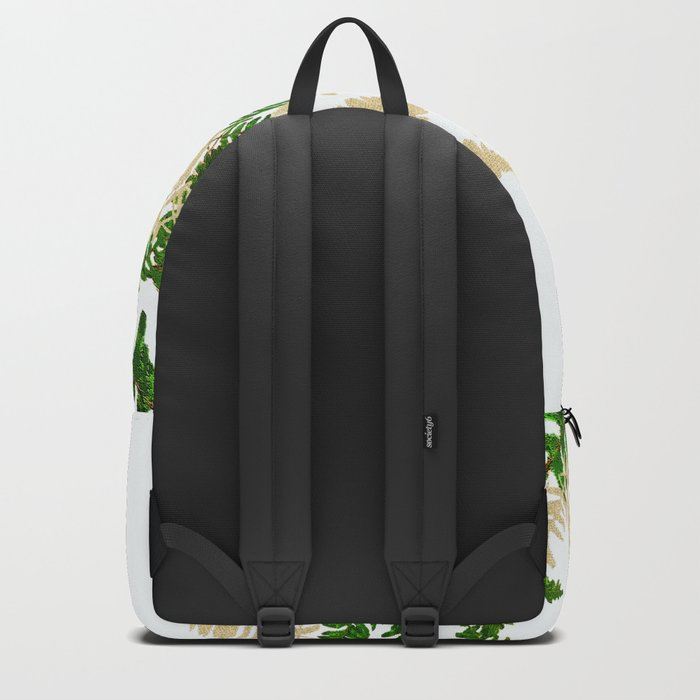 PALM LEAF FERN LEAF TROPICAL Backpack