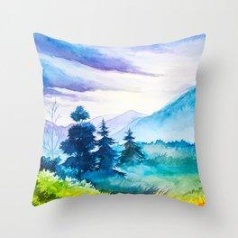 Autumn scenery #10 Throw Pillow