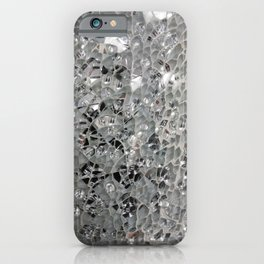 Silvery Glass and Mirrors iPhone Case