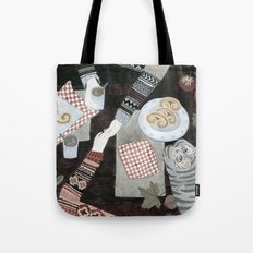 Fall Date Tote Bag