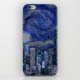 Seattle Starry Night iPhone Skin