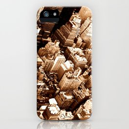 NYC - Big Apple from Empire  iPhone Case
