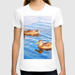 2 Ducks in a Pond T-shirt