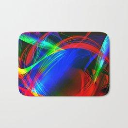 Colorful smoke Bath Mat