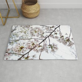 Cherry Blossom in the Spring Rug