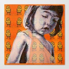 BIDDY GIRL Canvas Print