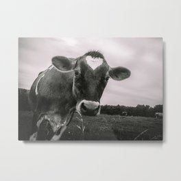 She wears her heart for all to see Metal Print