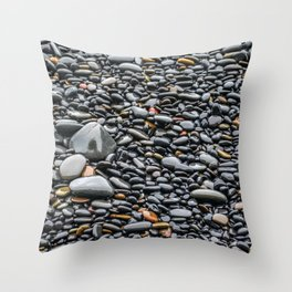Polished Smooth Throw Pillow