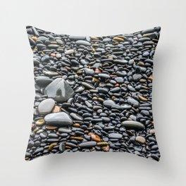 Polished Smooth Throw Pillow