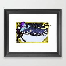 Winter Faun Framed Art Print