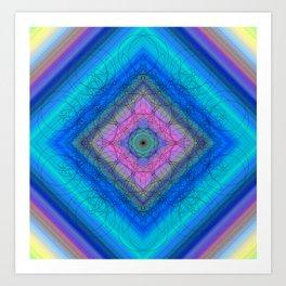 10 Lotus Buds Art Print