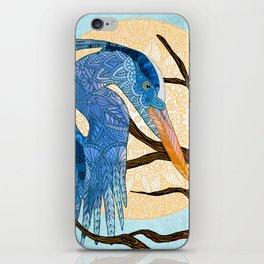Egret Sun iPhone Skin