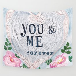You & Me Wall Tapestry