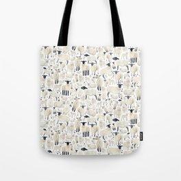 Watercolour Sheep Tote Bag