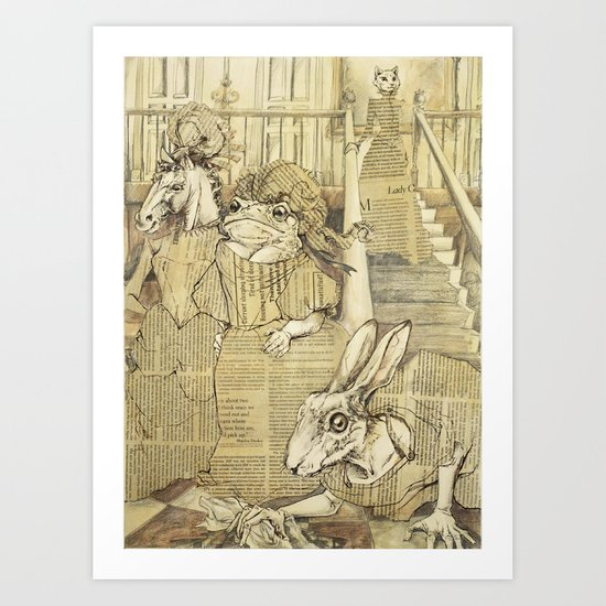 Cinderella Part I Art Print