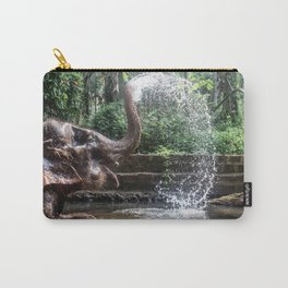 Elephant Bathing Carry-All Pouch