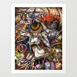 Paradoks Art Print