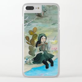 Cave Witch Clear iPhone Case