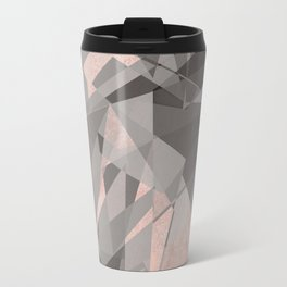 Shattered - Rose Gold Travel Mug